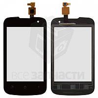 Панель передняя,чорный для телефона Fly IQ430 код M109-E83980-200