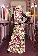 Женский костюм юбка + кофта Мальвина А3 Медини 46-48размеры