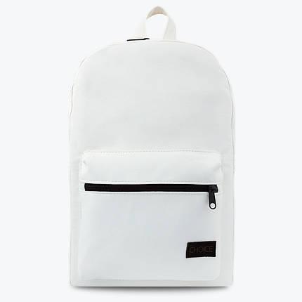 Белый практичный рюкзак MILANO Snow, фото 2