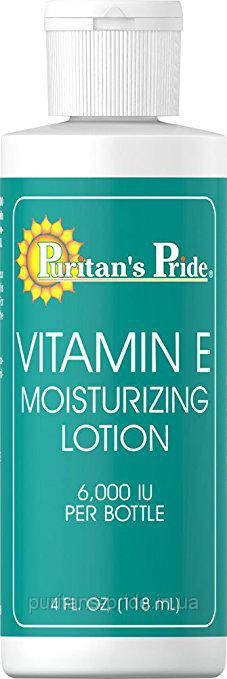 Puritan's Pride Vitamin E Moisturizing Lotion 6,000 IU 4 oz