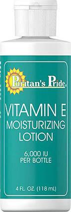 Puritan's Pride Vitamin E Moisturizing Lotion 6,000 IU 4 oz, фото 2
