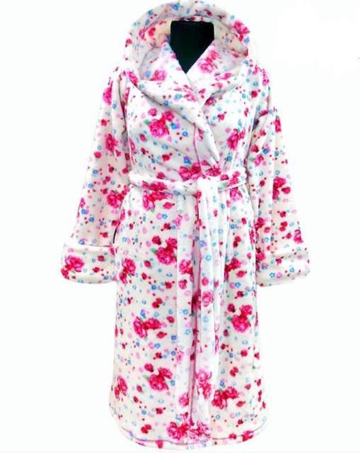 feb9b6823964 Подростковый зимний халат на поясе теплый домашний велсофт мягкий махровый  Украина, цена 586,04 грн., купить в Вышгороде — Prom.ua (ID#451179764)