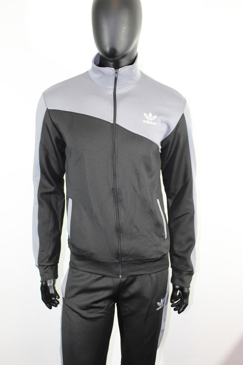 74bd7bb3 Мужской спортивный костюм Адидас эластик купить - Интернет-магазин
