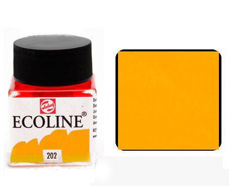 Краска акварельная Royal Talens Ecoline 30мл №202 Желтая тем. 11252020