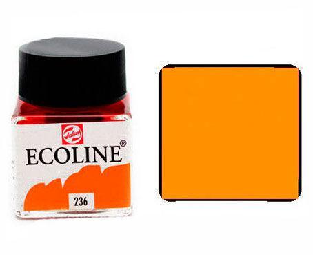Краска акварельная Royal Talens Ecoline 30мл №236 Оранжевая св. 11252360