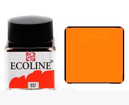 Краска акварельная Royal Talens Ecoline 30мл №237 Оранжевая темн. 11252370