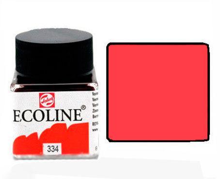 Краска акварельная Royal Talens Ecoline 30мл №334 Красная яркая 11253340