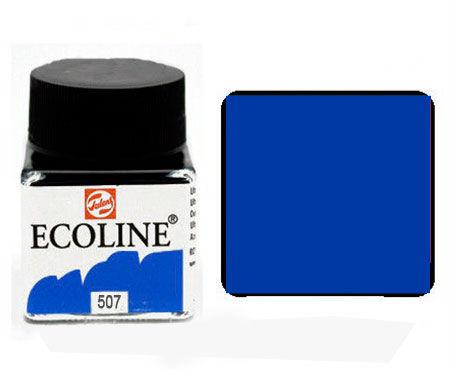 Краска акварельная Royal Talens Ecoline 30мл №507 Ультрамарин фиолетовый 11255070
