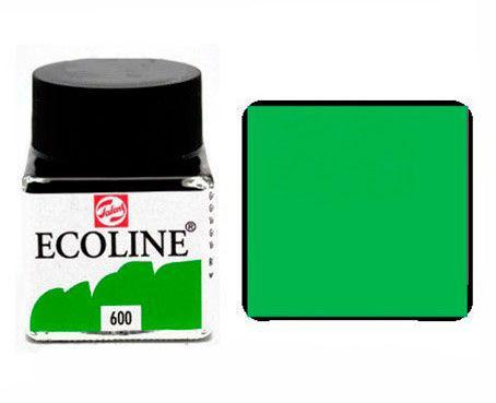 Краска акварельная Royal Talens Ecoline 30мл №600 Зеленая 11256000