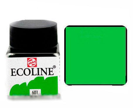 Краска акварельная Royal Talens Ecoline 30мл №601 Зеленая св. 11256010