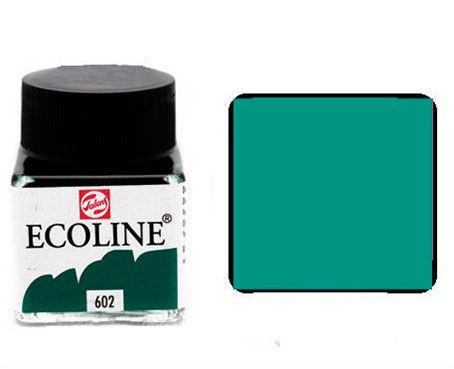 Краска акварельная Royal Talens Ecoline 30мл №602 Зеленая темн. 11256020