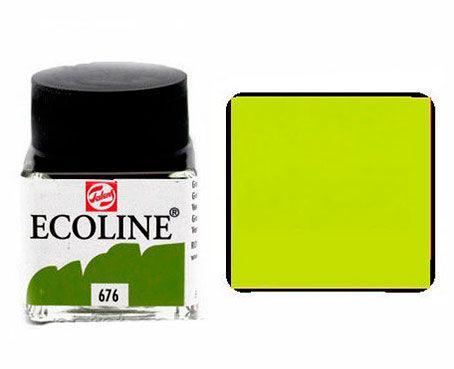 Краска акварельная Royal Talens Ecoline 30мл №676 Зеленая травяная 11256760