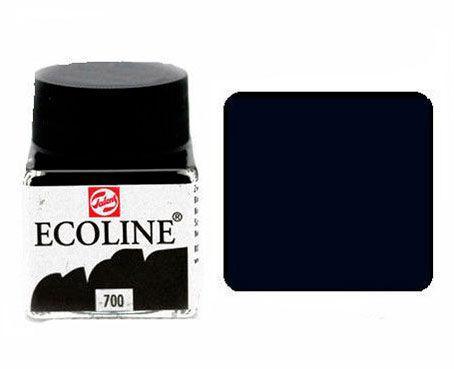 Краска акварельная Royal Talens Ecoline 30мл №700 Черная 11257000