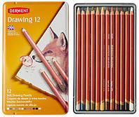 Карандаши цветные воско-масл. 12шт Derwent Drawing D-0700671