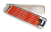 Карандаши цветные воско-масл. 6цв. Derwent Drawing в мет.кор.D-0701089