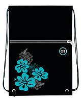 Сумка для обуви Cool For School CF85707 Black Pearl с карманом