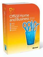 Купить Office 2010 Home and Business 32-bit/x64 Ukrainian DVD BOX T5D-00186