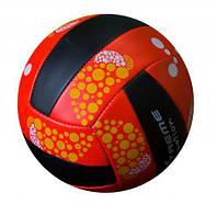 """Мяч волейбольный """"eXtreme motion"""" (красно-черный)"""