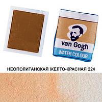 Краска акварельная Royal Talens Van Gogh в кюветах 2,5мл Неополитанская желто-красная 224