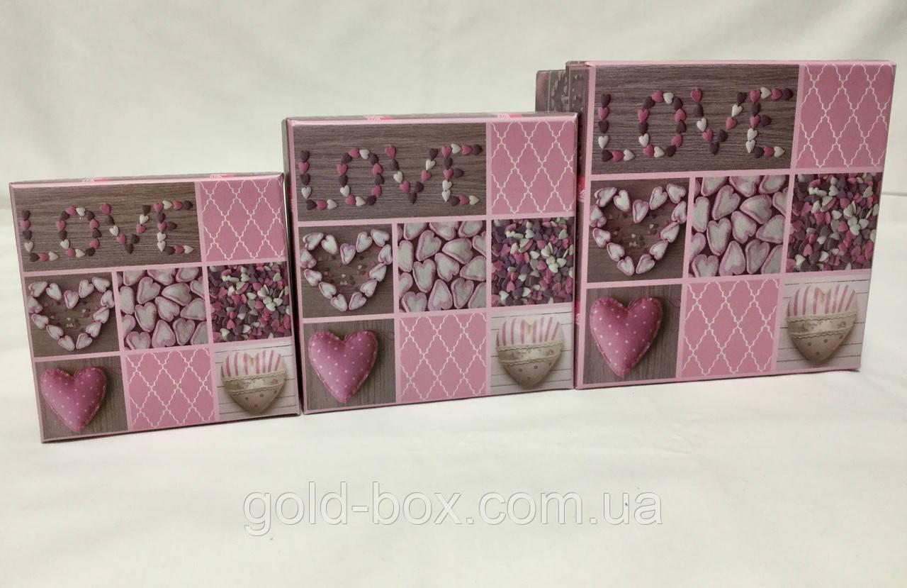 """Подарочные коробочки """"Love"""" оптом"""