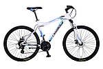 """Горный велосипед CROSSER VIPER  26"""", 18""""   Белый / Голубой"""