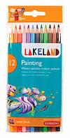 Карандаши акварельные набор 12цв. Derwent Lakeland Painting в блистере D-33254