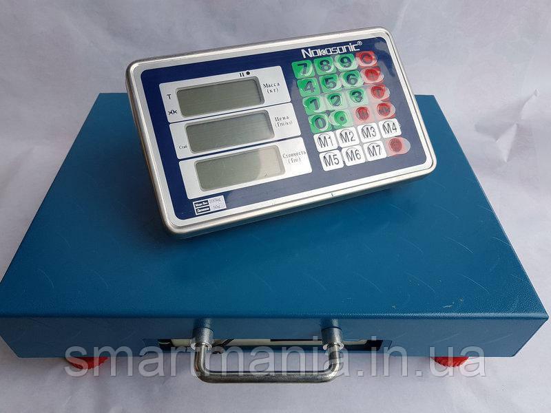 Ваги торгові бездротові Bluetooth 200 кг (32х42 см)