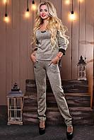 Теплый серый костюм 2481 Seventeen 42-48 размеры