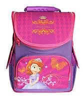 Рюкзак (ранец) школьный каркасный Smile 974824 Принцесса ортопедический 34.5*25,5*13см