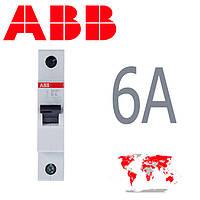 Авт. выкл. ABB 1полюс 6A SH 201-B