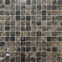 Мраморная коричневая мозаика Vivacer SPT116