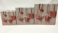 """Подарочные коробочки """"Тёплые сердца"""" оптом"""