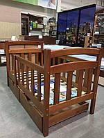 """Кровать деревянная односпальная """"Карина Люкс"""""""