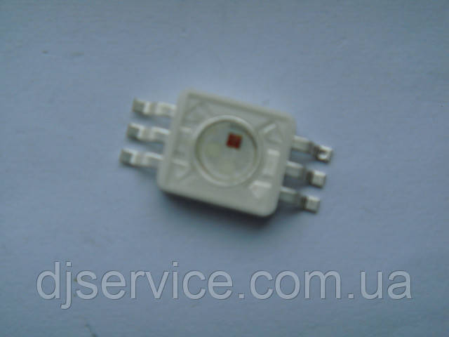 LED диод 9w RGB для PAR36, архитектурной подсветки