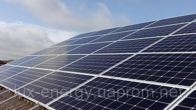 Сетевая солнечная электростанция 15 кВт, фотомодули Longi Solar 295W(mono), инвертор CMA STP 15000TL