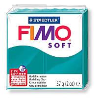 Глина полимерная Staedtler FIMO Soft 56г Бирюзовый  8020-36