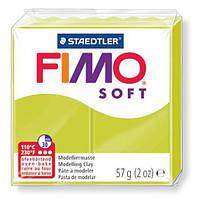 Глина полимерная Staedtler FIMO Soft 56г Зеленый лайм 8020-52