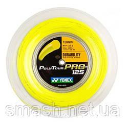Теннисная струна Yonex Poly Tour Pro 125 Yellow 200м