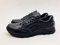 Мужские кроссовки ECCO черные NEW