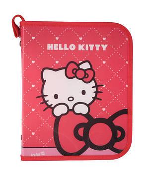 Папка для тетрадей А5+ KITE мод 203 на молнии Hello Kitty HK13-203-1K