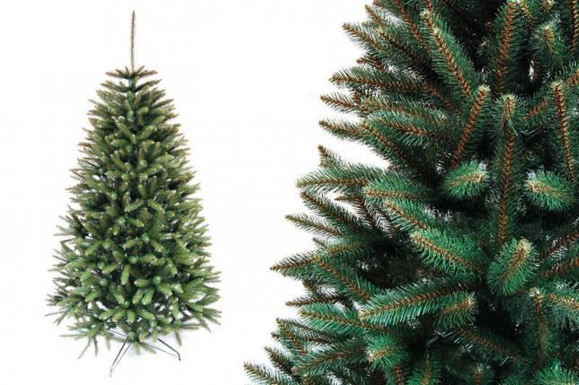 """Елка """"Оливковая натуральная"""" на пластиковой подставке + гирлянда в подарок, фото 2"""