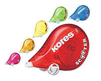 Корректор-лента KORES Scooter 4,2мм*8м ассорти K84873
