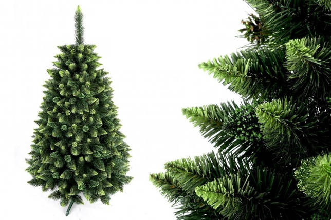 """Сосна """"Зеленая гора"""" на пластиковой подставке + гирлянда в подарок, фото 2"""