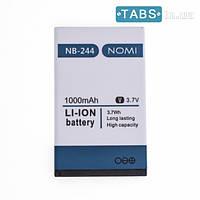 Nomi Аккумулятор (батарея) Nomi NB-244/NB-244+ для i244/i244+ оригинал АААА