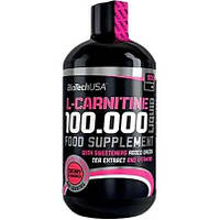 L-карнитин BioTechUSA L-Carnitine 100.000 Liquid 500 ml /50 servings/ Apple