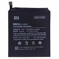 Аккумулятор Xiaomi BM34 для Mi Note Pro 3010 мА*ч оригинал