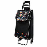 Дорожная сумка на колесах совы
