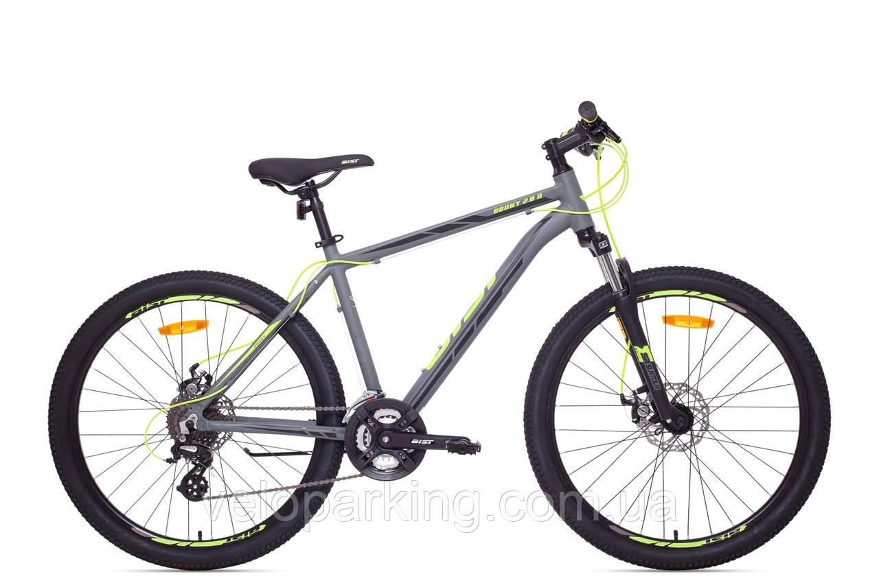 Горный алюминиевый велосипед 26 Aist Rocky 2.0 Disk (Минск,Беларусь) 2018 оригинал