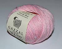 Детская пряжа Gazzal Baby wool XL 836 светло-розовый