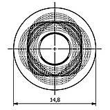 Фильтр форсунки нержавещий 0-102/08PRO Agroplast, фото 6